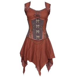 Weapon Master's Drinking Gown Corset Dress