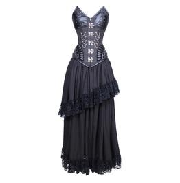 Midnight Malevolent Maelstrom Corset Dress