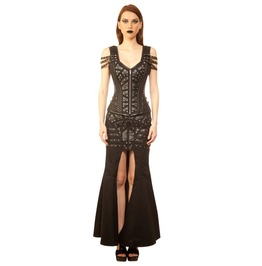 Queen Mother Battle Gown Corset Dress