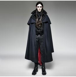 Punk Rave Gothic Style Vampire Cape Overcoat Y 709