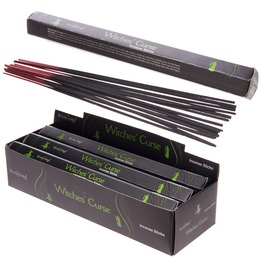 Witches Curse Incense Sticks,Gothic Incense,Aloe Vera,Pagan,Wiccan,Goth