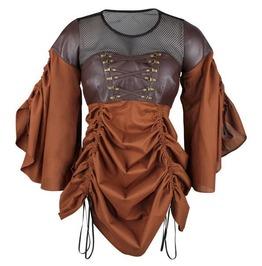 Steamed Assassin Dress Mocha
