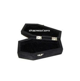 Dracula's Coffin Jewellery Box,Hand Made,Vampire,Goth,Halloween,Coffin