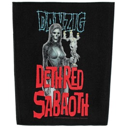Danzig Back Patch Official Candelabra
