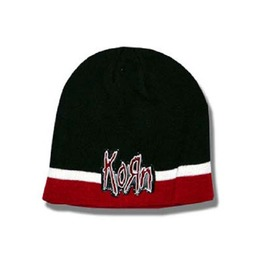 Korn Beanie Hat Ski Hat Red And Black