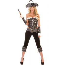 Sexy Pirate Lady Dress Up Costume