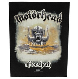 Motorhead Giant Back Patch Sew On Aftershock