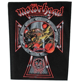 Motorhead Giant Back Patch Sew On Bomber
