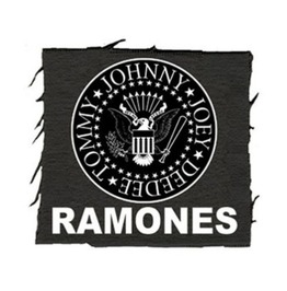 Ramones Back Patch Sew On Frayed