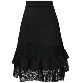 New Gothic Punk Black Lace Skirts