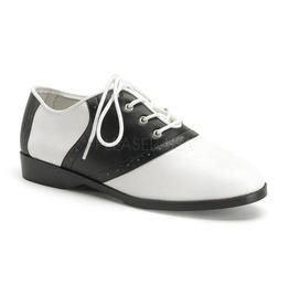 Funtasma Black And White Saddle Shoes