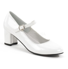 Funtasma Schoolgirl Mary Jane White Pumps