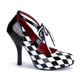 Funtasma Harley Quinn Checkers Heels