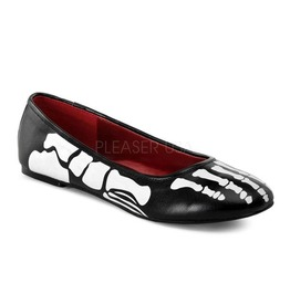 Funtasma Skeleton X Ray Slip On Flats