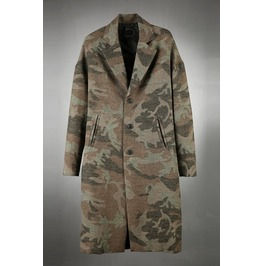 Camo Long Coat