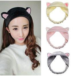 Cat hairband diadema gato wh163 hair accessories