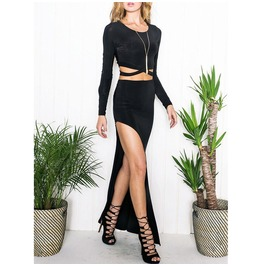 Women Party Dress Evening Cocktail Casual Long Sleeve Mini Dress