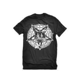 The Alley Black Cat Pentagram T Shirt