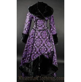 Purple Evil Queen Coat