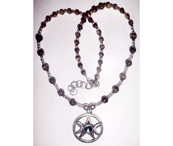 Wicca Celtic Pagan Necklace Tiger Eye_Necklaces_3.jpg