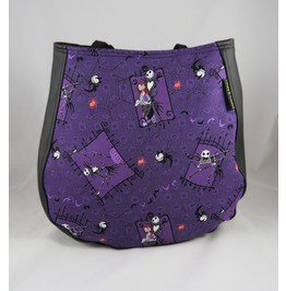 Nightmare Before Christmas, Jack And Sally Charla Over The Shoulder Purse