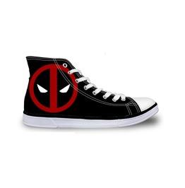Deadpool Shoes Black Shoes Women Shoe Men Shoes Marvel Casual Shoes