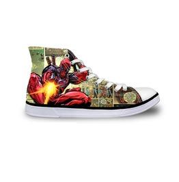Deadpool Shoes Green Shoes Women Shoe Men Shoes Marvel Casual Shoes