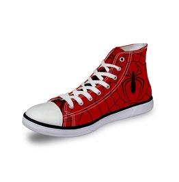 Spiderman Shoes Red Shoes Women Shoe Men Shoes Marvel Casual Shoes