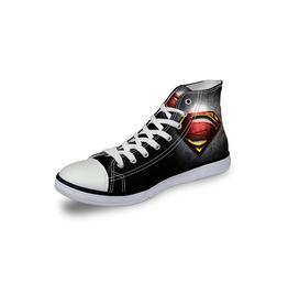 Superman Shoes Black Shoes Women Shoe Men Shoes Marvel Casual Shoes