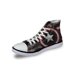 Captain America Shoes Grey Shoes Women Shoe Men Shoes Marvel Casual Shoes