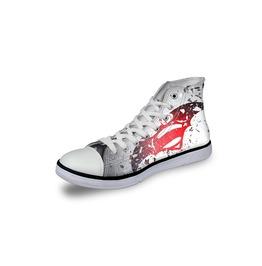 Superman Shoes White Shoes Women Shoe Men Shoes Marvel Casual Shoes