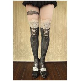Personalized Lolita Style Pattern Pantyhose