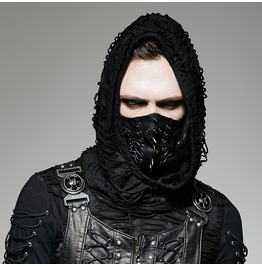 Punk Rave Men's Gothic Punk Spike Hannibal Mask