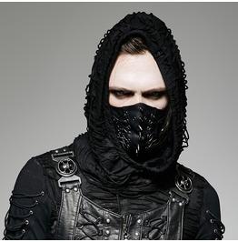 Punk Rave Men's Gothic Punk Spike Hannibal Mask
