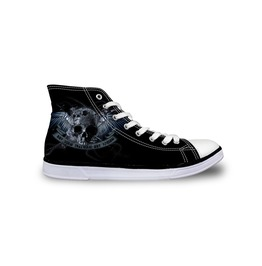Skull Rock Shoes Black Shoes White Shoes Women Shoe Men Shoes Casual Shoes