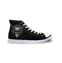 Skull Shoes Army Shoes Women Shoe Men Shoes Casual Shoes Rock Shoe