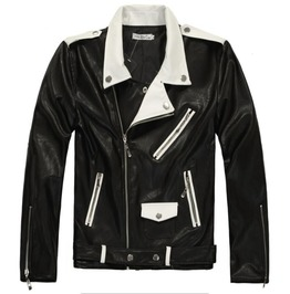 Rock Punk Slim Fit Jackets Coat Motorcycle Outwear