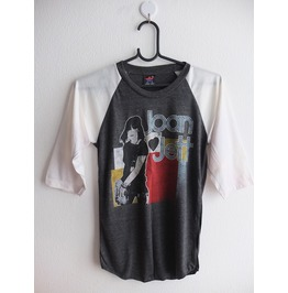Joan Jett Retro Rock T Shirt 3/4 Long Sleeve Baseball Pop Rock T Shirt Xs