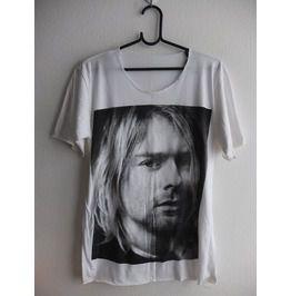 Kurt Cobain Dave Grohl Punk Rock White T Shirt M