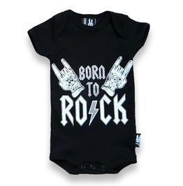 """Born To Rock"" Baby Romper"
