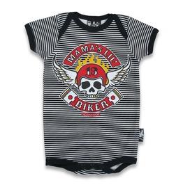"""Mama's Little Biker"" Baby Romper"