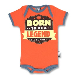 """""""Born To Be A Legend"""" Baby Romper"""