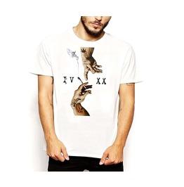 Weed T Shirt Cannabis 4/20 Marijuana Religious Art Spliff Sensi Cotton Tee