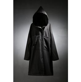 Boxy Hoodie Coat