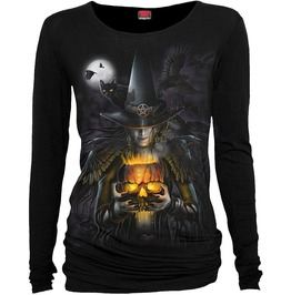 Witching Hour, Baggy Top Black|Gothic|Horror|Crow|Mystical