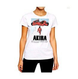 Vintage T Shirt Old School Anime Neo Tokyo Must Explode Woman Cotton Tee
