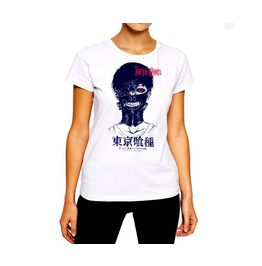 Horror T Shirt Zippered Mouth Gimp Mask Anime Gore Woman Cotton Tee