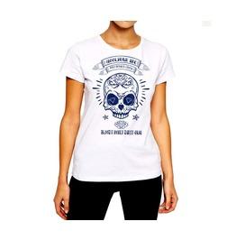 Skull And Diamonds T Shirt Hooligan Inc Women Cotton Tee