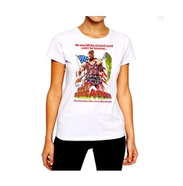 Vintage T Shirt Old School Gore Movie Classic Women Cotton Tee