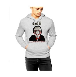 Creepy Mask Hoodie Scary Horror Movie Pullover Hoodie